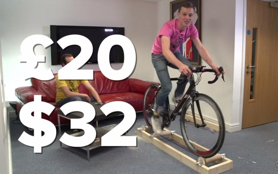 Build Your Own Rollers For 20 Video Roadcc