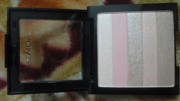 Revlon-highlighting-palette-Rose-Glow-Review