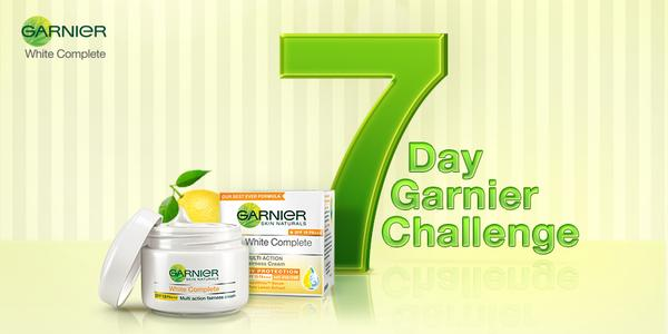 Garnier White Complete Fairness Contest and Review: Get Free Samples
