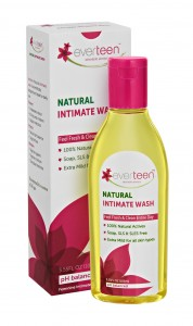 evertreen natural intimate wash