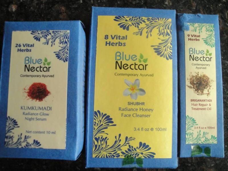 Blue Nectar Luxury Ayurveda Brand Review