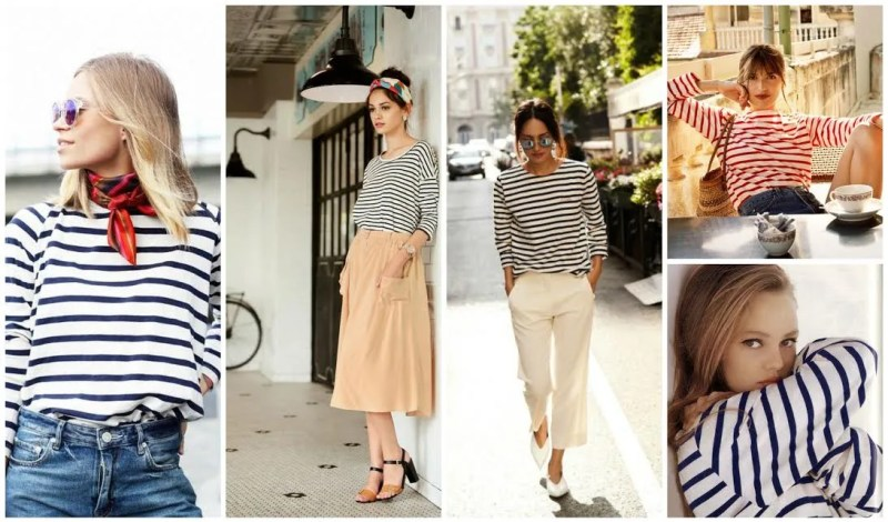 Wearing Stripes to Adopt French Riviera Style