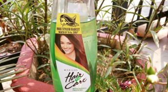Marico's Hair & Care Non Sticky Hair Oil Review with Free Hair Cut