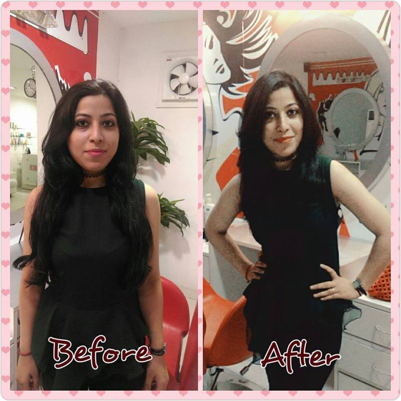 Jawed habib hair cut salon review