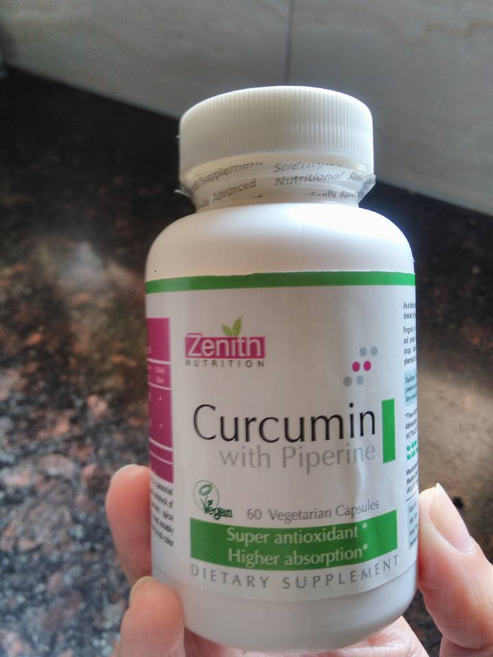 Turmeric Health Benefits in Zenith Nutrition Curcumin Piperine Capsules
