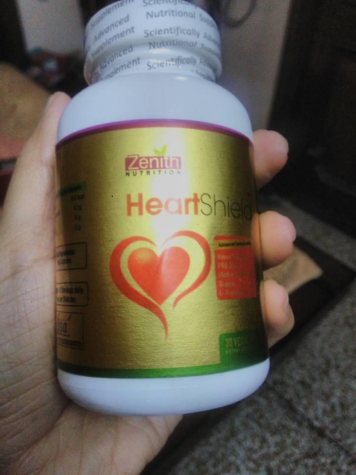 Zenith nutrition heart shield supplement review
