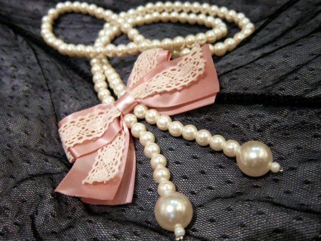 pearl jewellery is in trend