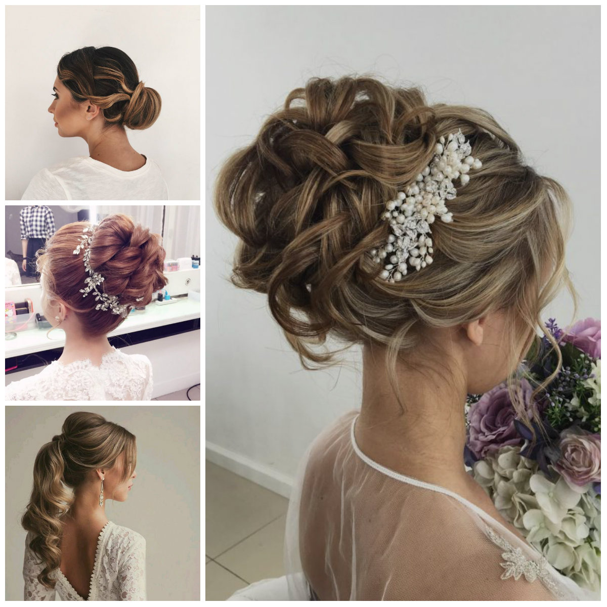 hair up styles wedding 5 bridal hair and make up trends for 2017 8958