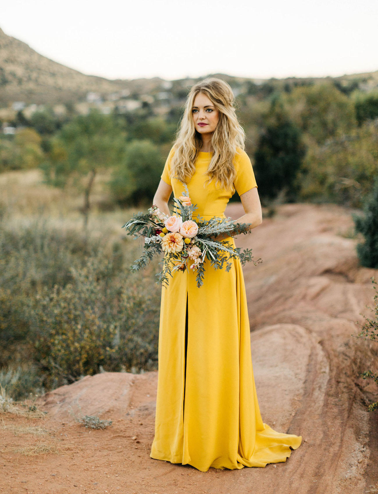 What does the color of your wedding dress mean for Wedding dress color meanings