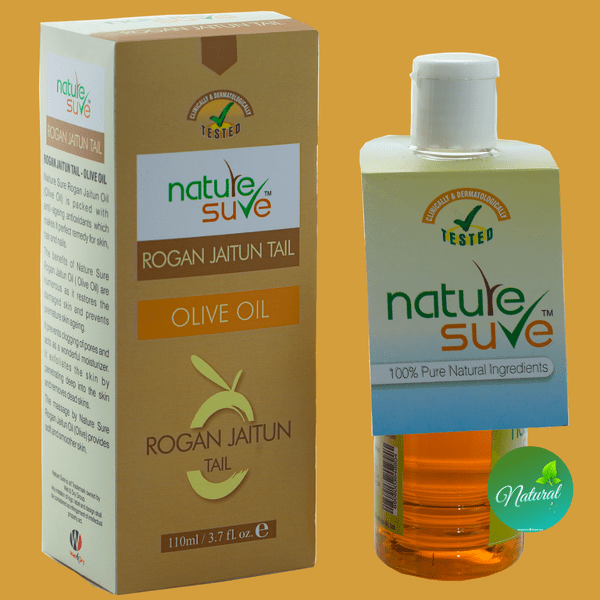 Nature Sure natural personal care products brand rogan jaitun olive oil