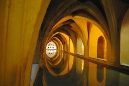 Baths of Lady María de Padilla - rain water tanks at Real Alcázar de Sevilla