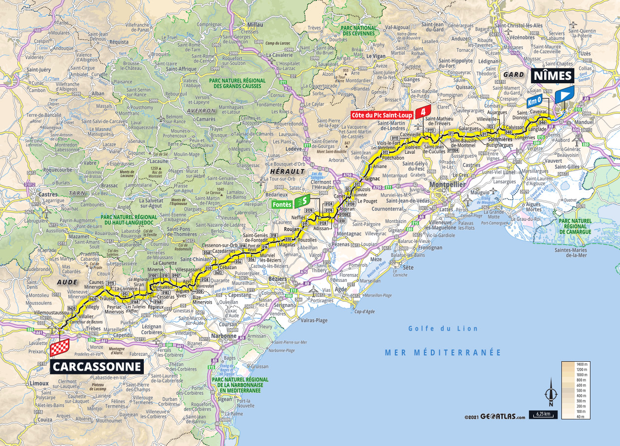 ~Profile \ Ext:php Inurl:?Article= - 2021 TOUR DE FRANCE STAGE 13 PROFILE | Road Bike Action