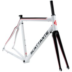when it comes to the frame material of your road bicycle you will have 4 main options aluminum steel titanium and carbon fiber