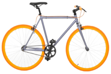 Vilano Fixed Gear Single Speed Road Bike