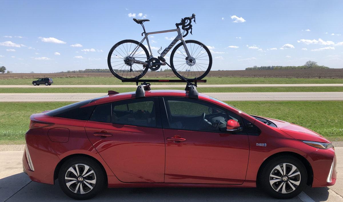 prius bike roof rack