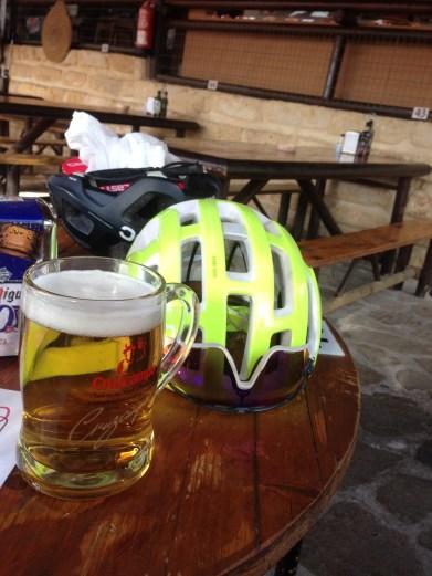 Y para finalizar una buena cerveza
