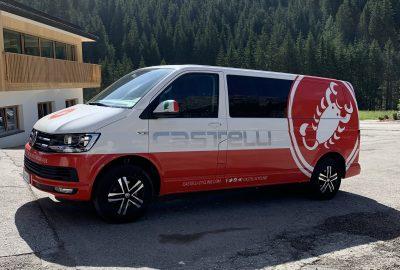 Castelli Cycling Van.
