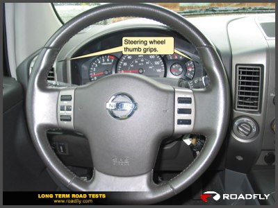 Thick Sporty Nissan Titan Steering Wheel