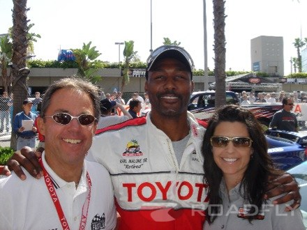 Karl Malone at the 2007 Toyota Pro Race