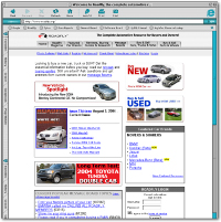 Roadfly.com 3rd generation home page