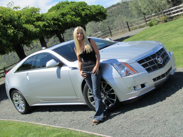 Jessi Lang Cadillac CTS Coupe