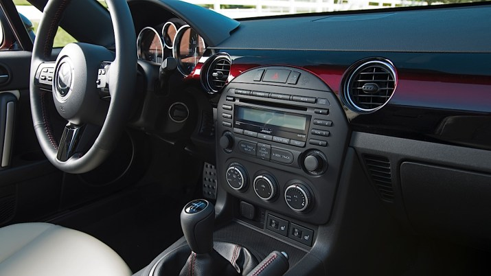 2015 MX-5 25th Anniversary Edition interior