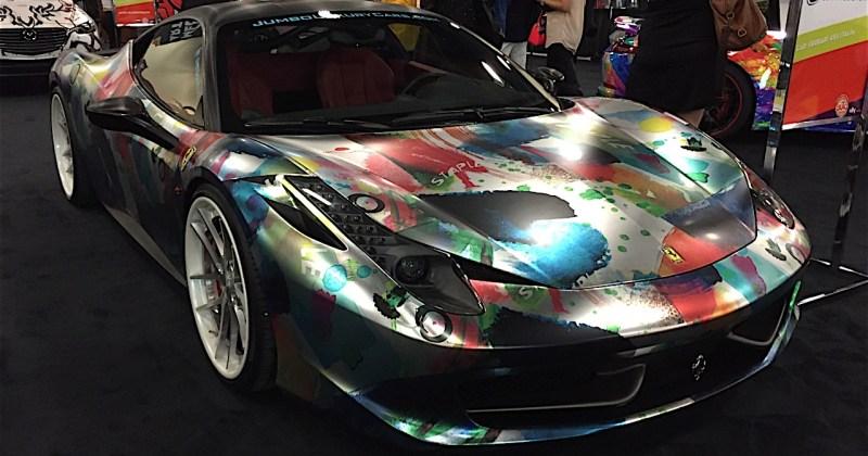 Miami Car Show >> 2015 Miami Auto Show Art Cars