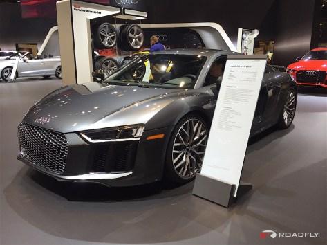 2016 Audi R8 V10 Plus