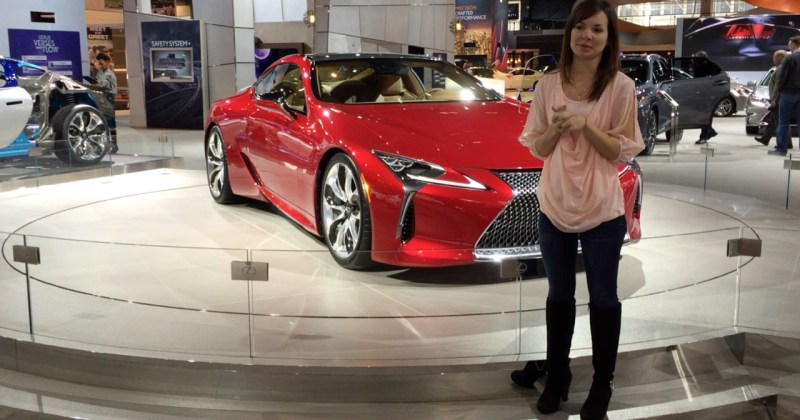 2017 Lexus LC500 with Laura Conrad