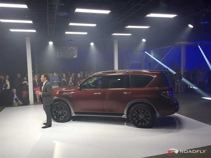 2017 Nissan Armada Reveal