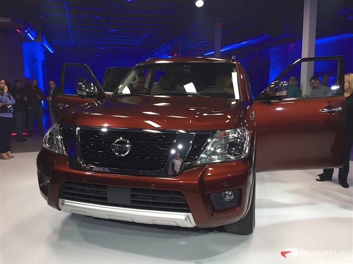 2017 Nissan Armada Chicago Auto Show