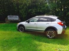 Subaru Crosstrek at UNC Chapel Hill
