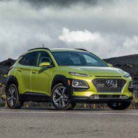 Hyundai Kona Green Metallic