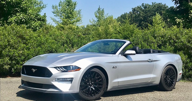 2018 Ford Mustang GT Convertible in Silver