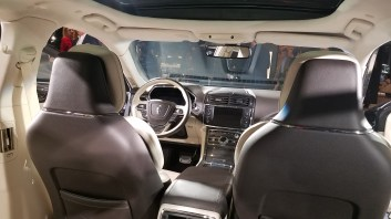 Lincoln Continental Coach front seats