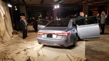 Rear Lincoln Continental