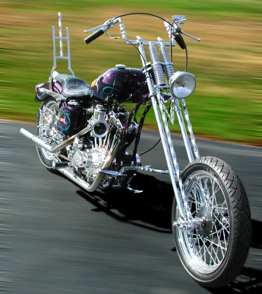 """Twisted"" Sportster Chopper"