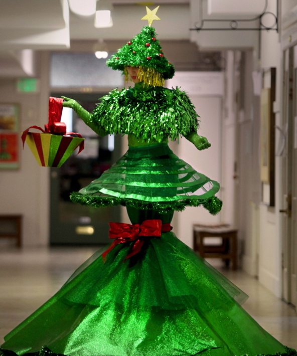 Christmas Tree Costume Roadkillgirl