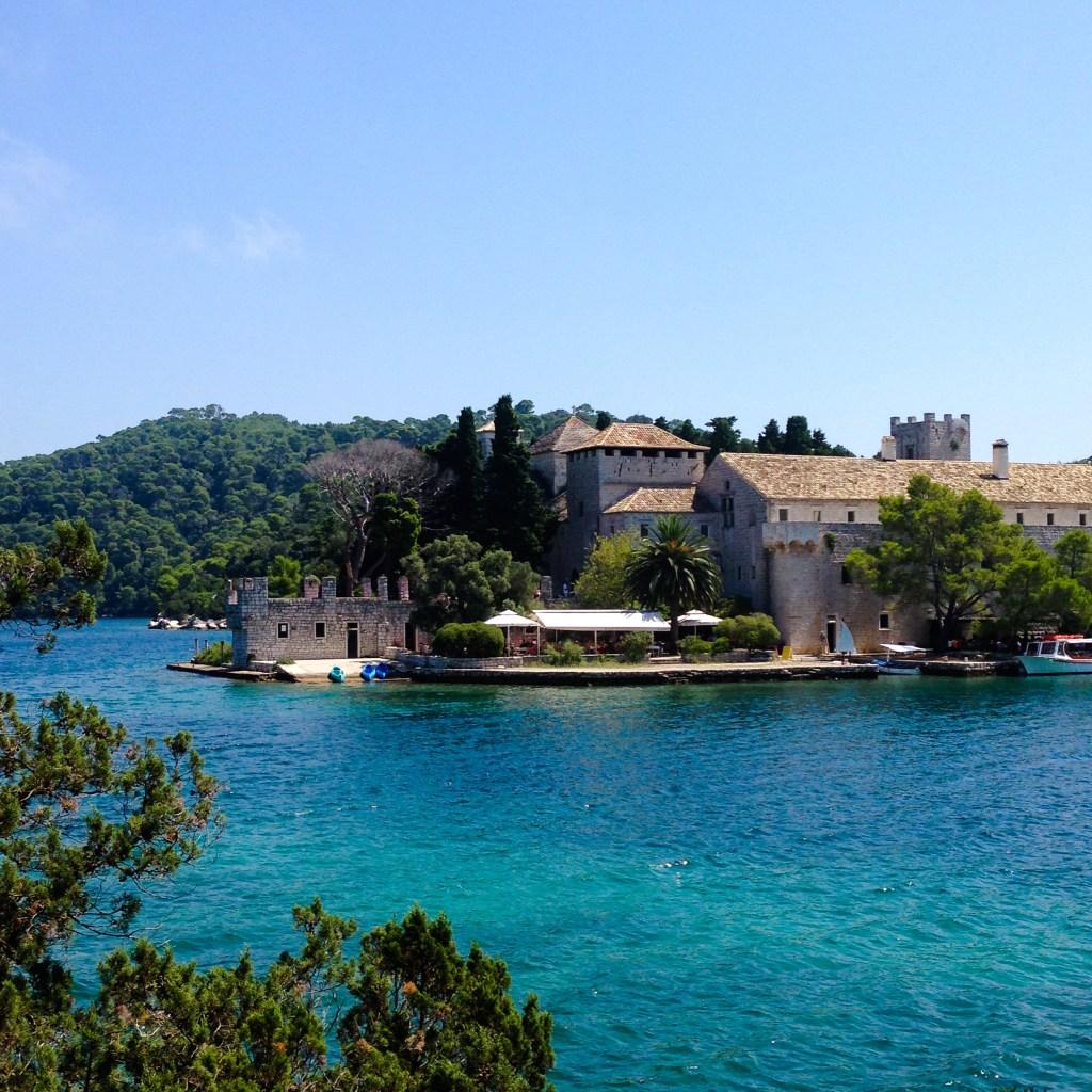 Mljet island Monastery, Croatia 2014