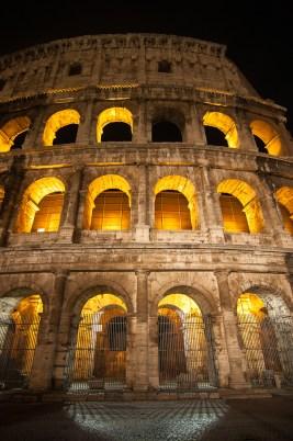 Colosseum at Night 5