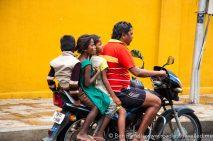 The family scooter. Chennai, India