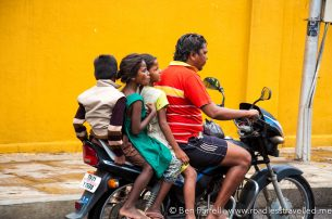 The family scooter. Chennai, India