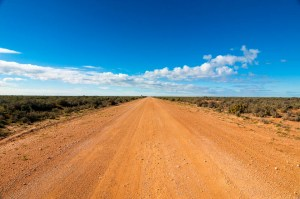 The start of the Road to Mungo National Park