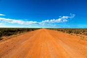 A road to nowhere. 'The Outback', Australia.
