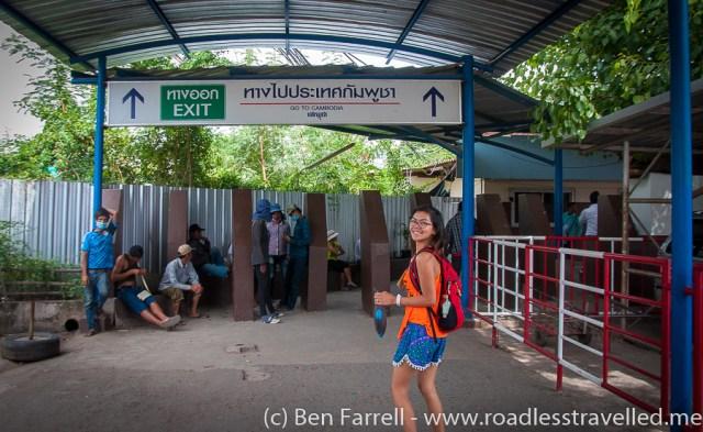Cambodia Border Crossing-2012