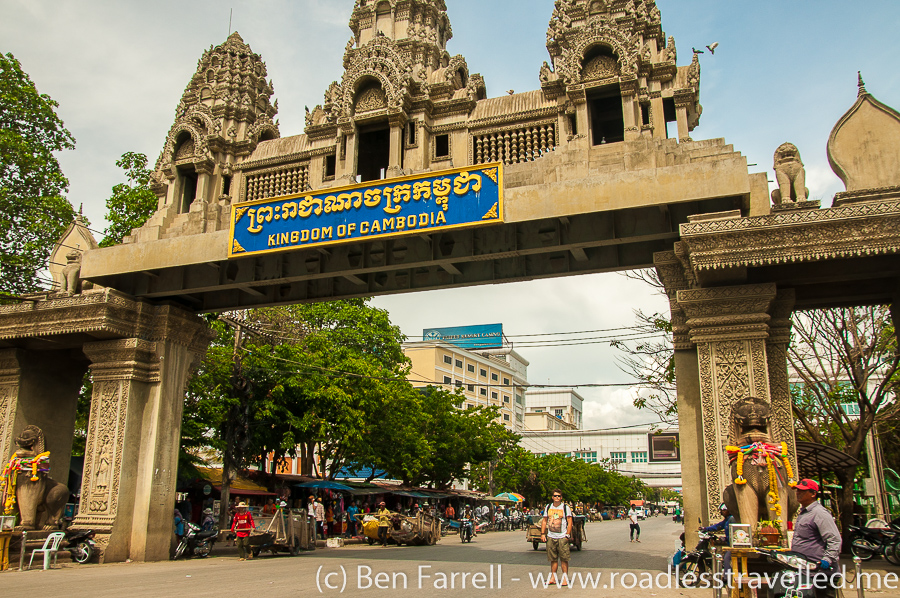 Crossing the Thai Cambodia Border Overland by Bus