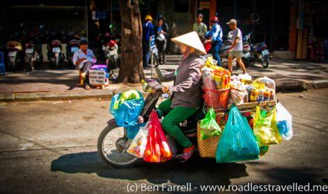 Saigon Motorbike Vendor