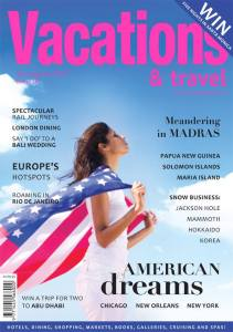 Vacations & Travel Magazine Cover, July 2015