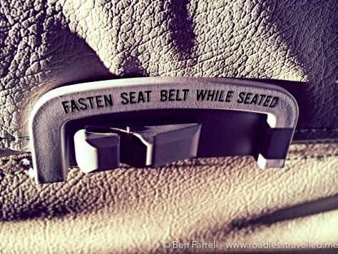 Fasten Seat Belt-1