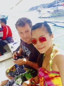 Island hopping off El Nido, Palawan